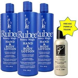 Rubee Beaute Reelle & Rinju Lotion 1x 16oz bottle
